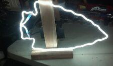 NFL NCAA neon sign part beer light chiefs Seminoles arrowhead letter script tube