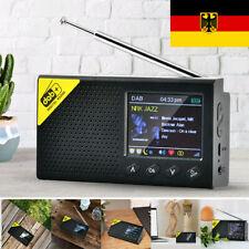 Tragbares DAB+ Radio Digitalradio FM Akku Bluetooth5.0 Musik Player LCD Display