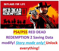 RED DEAD REDEMPTION 2 Saving data modify!Story mode only!PS4/PS5!
