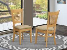 Set of 2 East West Furniture VAC-OAK-C Microfiber Upholstered Seat Dining Cha