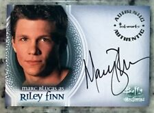 Marc Blucas as Riley Buffy Men of Sunnydale Autograph Card Auto #A2