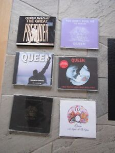 QUEEN COLLECTION 5 ORIG x  CD singles PLUS NIGHT AT OPERA US