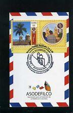 postal,marcofilia-''EL SOCORRO-BUGA''PUEBLOS PATRIMONIO DE COLOMBIA''2016