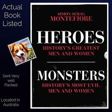 Simon Sebag Montefiore Two Books Heroes and Monsters Limited Edition Box Set PB
