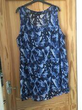 Ladies/girls Longline Sheer Cool Top Size 24
