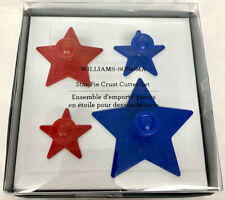Williams Sonoma Star Pie Crust or Cookie Cutters, Set of 4