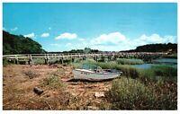 Uncle Tim's Bridge At Wellfleet Cape Cod Massachusetts PC 1567