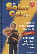 KLUTZ PRESS SOLAR CAR and BOOK AGES 8+