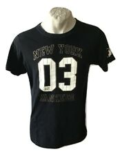 Maglia new york yankees 03 NY cooperstown majestic t-shirt taglia XL jersey nera