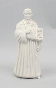 9944418 Martin Luther mit Bibel weiß Kämmer Porzellan-Figur H24cm
