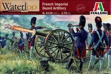 Italeri Models French Imperial Guard Artillery Napoleonic Wars 1 72 Kit