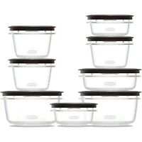 Rubbermaid Premier Food Storage Containers 16-Piece Set New Free Shipping
