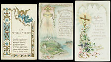 lotto santini-holy cards lot-lot images pieuses-konvolut heiligenbildichen 2516
