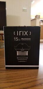 irix Blackstone 15mm f/2.4 (Pentax K)
