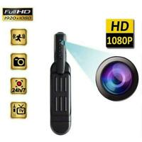 Pocket Pen Camera 1080P HD Hidden Mini Portable Body DV DVR Recorder Video K4A9