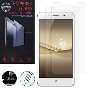 """2X Schutzglas für LEAGOO M5 3G 5.0"""" Echtglas Display Schutzfolie Schutzglasfolie"""