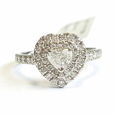 Heart Excellent Cut Natural Fine Diamond Rings