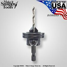 Snappy Premium Ball Bearing Rotating Depth Stop for Gold Screw Countersinks USA