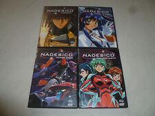 JAPAN ANIME DVD LOT MARTIAN SUCCESSOR NADESICO 1 2 3 4 MISSION MARS DANGER ZONES