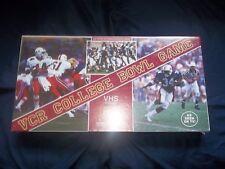 Vintage 1987 Vcr College Bowl Game Football Still In Shrink Wrap