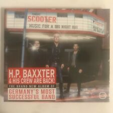 Scooter Music For A Big Night Out cd 12 titres neuf sous blister