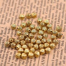 50/100Pcs Tibetan Silver Round Charm Spacer Beads 5X5MM 3138
