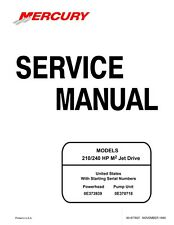 Sea-Doo 1999 M2 210 240 HP Engine Shop Repair Manual 90-877837 Free Shipping