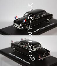 Norev Renault Frégate Limousine Présidentielle 1957 noire 1/43 519168