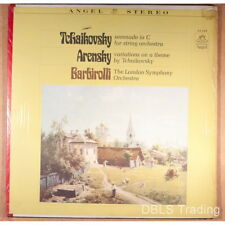 Tchaikovsky - Serenade in C / Arensky- Variations - Barbirolli - Angel Red Back
