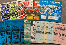More details for stock car programmes 1960s/70s