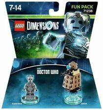 LEGO Dimensions Fun Pack Doctor Who Cyberman & Dalek 71328