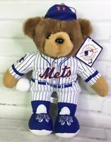 Good Stuff MLB NY New York Mets Baseball Plush Stuffed Teddy Bear Souvenir Toy