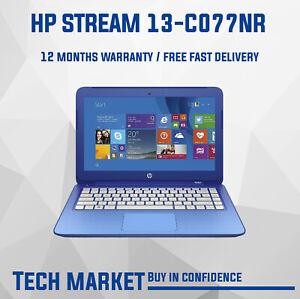 HP STREAM 13-C077NR 13.3in 2.16GHz INTEL N2840 2GB 32GB eMMC BLUE