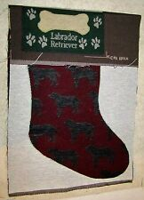 Dog - Labrador Retriever Tapestry Christmas Stocking Fabric Piece