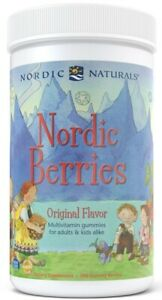 NORDIC NATURALS Nordic Berries Multivitamin (Multivitamin for Kids and Adults)