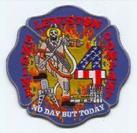 Lewiston Fire Department Engine 4 Patch Maine ME