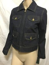 Lauren Ralph Lauren Jeans Co. Nolita Denim Blazer Jacket XS