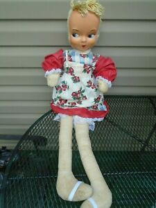 """Vintage Dance with Me Doll  38"""" Tall  1950's"""