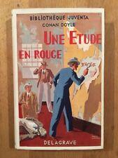 Conan Doyle - Une étude en rouge - Bibliothèque Juventa - 1933 - TBE/NEUF