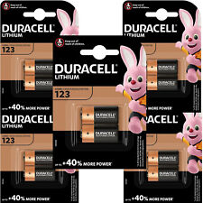 10 x Duracell Lithium 123 K123A CR17345 DL123 Foto Batterien
