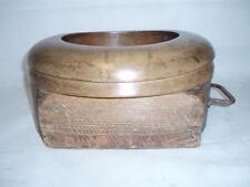 Antique Rare Wooden Hat Block Shop Display    (Milliners). Top/Bowler Hat.?