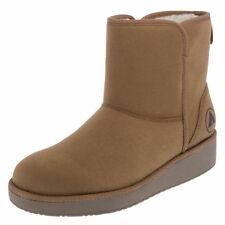 Wedge Medium Width (B, M) Synthetic Solid Boots for Women