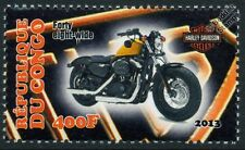 Harley Davidson Forty-Eight Wide Motorbike Bike Motorcycle Stamp