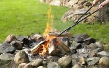 Sunnydaze Decor Log Claw Grabber Tongs Move Firewood Easily and Safely