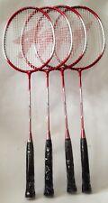 Pointfore badminton rackets x 4