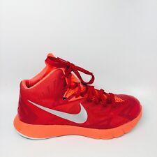 Nike Lunarlon Hyperquickness Basketball Shoes Red/Silver US 7.5 UK 6.5