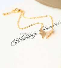 Korean new gold butterfly bracelet anklet sweet pure fresh accessories  women