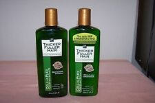 Thicker Fuller Hair Revitalizing Shampoo & Weightless Conditioner NEW 12 oz Each