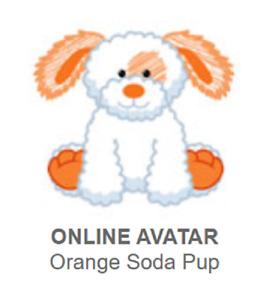 Webkinz Classic Orange Soda Pup *Code Only*