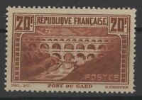 AM128874 / FRANCE « PONT DU GARD » Y&T # 262a MNH ** 700 $